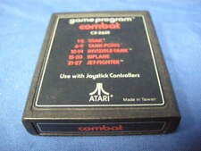 AS IS GAME PROGRAM COMBAT CX-2601 FOR ATARI NOT TESTED