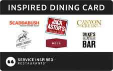 $260 Gift Card for 6 Different Restaurants and Bars approx 60 Locations Canada