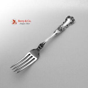 Buttercup Dinner Fork Sterling Silver Gorham Patent 1899