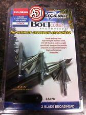 Excalibur Bolt Cutter Crossbow Broadheads 150 grain - Three Pack - BoltCutter