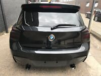 BMW 1 SERIES CUSTOM MADE STAINLESS STEEL FULL EXHAUST SYSTEM SUPPLY AND FIT