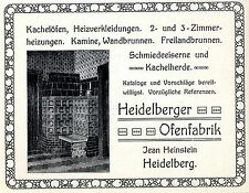 Jean Hein pietra Heidelberg in ferro battuto e tessera mandria Histor. promozionale 1909