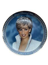 A Tribute To Princess Diana Commemorative Plate From The Franklin Mint