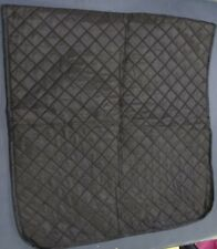 New listing New car seat cover black quilted texture nylon outer w/ foam interior 53x25 in