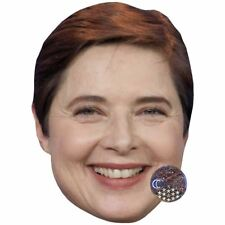 Isabella Rossellini Celebrity Mask, Card Face and Fancy Dress Mask