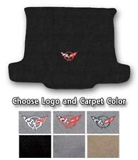 1997-2004 Chevrolet Corvette C5 Carpet Cargo Mat - Choose Color & Official Logo