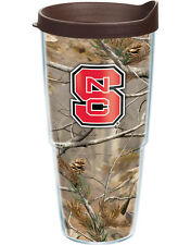 Tervis NC State Wolfpack Realtree Camo Wrap with Lid 24 OZ  #1079439