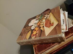 """Vintage Recipe Folder- """"Cooking Clips """" -100's of Hand Written & Clipped Recipes"""