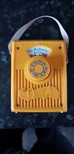 Vintage Fisher Price Toys Music Box Pocket Radio The Mulberry Bush