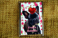 French Bulldog Dog Gift Dog Fridge Magnet 77x51mm Xmas Mothers Day Gift