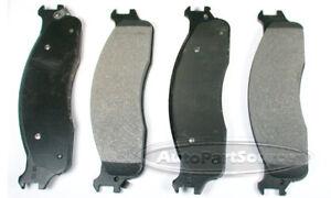 Disc Brake Pad Set-Severe Duty Metallic Pads Front Tru Star PPC965