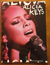 Alicia Keys Unplugged piano vocal guitar music sheet song book
