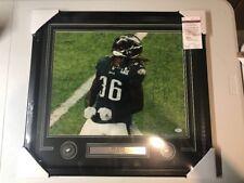 Jay Ajayi Autograph Digned Eagles Super Bowl LII 16x20 Photo Framed JSA