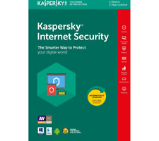 Kaspersky Internet Security 2020 1+ Years 1 Device