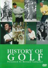 The History Of Golf - Bernard Gallacher - DVD UK (Brand New)