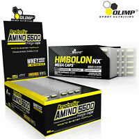 Anabolic Amino Acids 5500 + HMBolon 60-180Caps Whey Protein Pills HMB Fat Burner