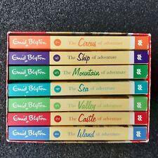 Enid Blyton: The ADVENTURE SERIES : 7 Book Box set collection : Macmillan