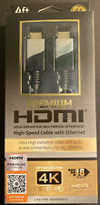 New 4-Ft Certified PREMIUM HDMI Cable 4K Ultra HD HDR w/High-Speed Ethernet