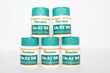 5X60 Tablets Himalaya Herbal Liv 52 DS Tablet for Natural Care