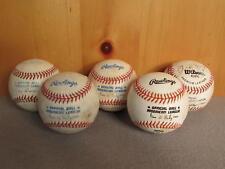 Vintage Group of 5 Rawlings & Wilson Official American League Baseballs Ripken