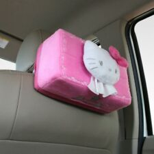 Hello Kitty Doll Toys Car Accessories Kleenex Tissue Paper Case Cover Holder