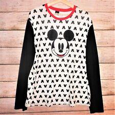"DISNEY Mickey Unisex PJ Pajama Top Long Sleeves SZ XL 49"" NWOT Shirt Sleepwear"