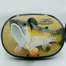 Rocky Rainbow Trout Singing Fish Upright Manufacturing Inc Tested Works