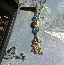 Dragon Turquoise Cell Phone Charm~Dust Plug Cover~Android~Free Ship