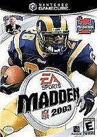 Madden NFL 2003 - Electronic Arts Football - Nintendo GameCube - Disc Only