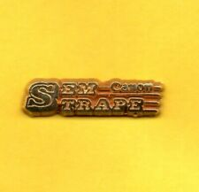 Pin's lapel pin pins CANON SEM TRAPE STRAPE  Zamac  Signé