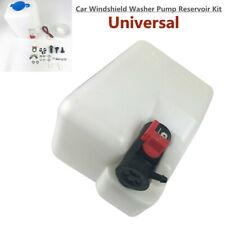 Universal UTV Car Windshield Washer Pump Reservoir Kit with 12V Washer Pump Set