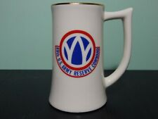 89th US Army Reserve Command Rolling W Infantry stein Rare 1973 Vintage beer mug
