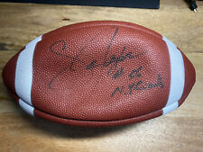 New York Giants NFL Lawrence Taylor #56 Autographed Football