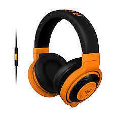 Auriculares Razer Kraken Mobile Neon naranja