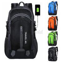 40L Rucksack Reise USB-Ladeanschluss Anti-Diebstahl Lock Backpack Schultasche