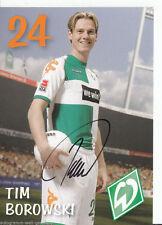 Tim Borowski Werder Bremen 2006-07 2.Karte TOP +A41697
