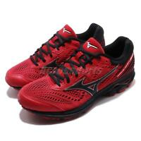 Mizuno Wave Rider 22 SW Super Extra Wide Red Black Men Running Shoes J1GC1832-10