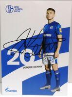 Jonjoe Kenny + Autogrammkarte 2019/2020 + FC Schalke 04 + AK2019139 +