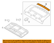 FORD OEM 12-18 Focus Interior-Rear-Rear Trim DM5Z5446506AB