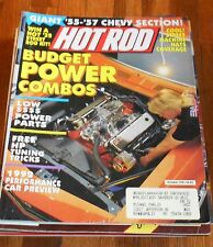 HOT ROD MAGAZINE Oct 1991- 55-57 Chevy, budget power combo, HP tuning tips