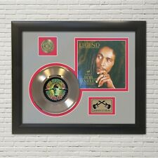 """Bob Marley """"Legend"""" Framed 45 Picture Sleeve Record Display. """"M4"""""""