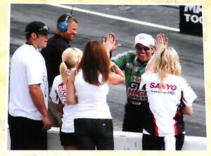 """NICE VINTAGE """"JOHN FORCE RACING FAMILY"""" COLOR DRAG RACING PRINT--8 1/2""""X11""""!!!"""