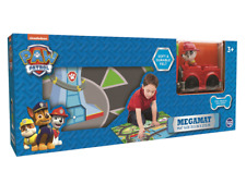 New Nickelodeon Paw Patrol Mega Mat With Vehicle Playmat Ages 3+