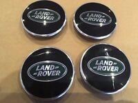 LAND ROVER DEFENDER SAWTOOTH ALLOY WHEEL GENUINE CENTRE CAPS SET OF 4