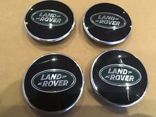 Land Rover Defender 90 110 en dents de scie roue alliage origine Centre Caps Lot de 4
