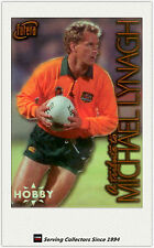 1996 Futera Rugby Union Trading Cards HOBBY MICHAEL LYNAGH TRIBUTE CARD(1)