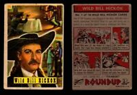 1956 Western Roundup Topps Vintage Trading Cards You Pick Singles #1-80