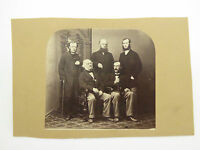 Large 1800s Victorian Cabinet Card Group Portrait Photograph LAYBY AVA