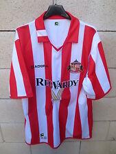 VINTAGE Maillot SUNDERLAND FC 2005 DIADORA shirt maglia trikot football calcio L