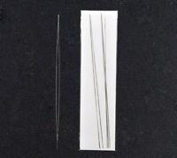 6 Big Eye Nadel Fädelnadeln Perlennadeln 125x0.6mm